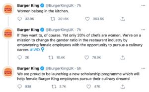 Burger King Missed the Mark on International Women's Day